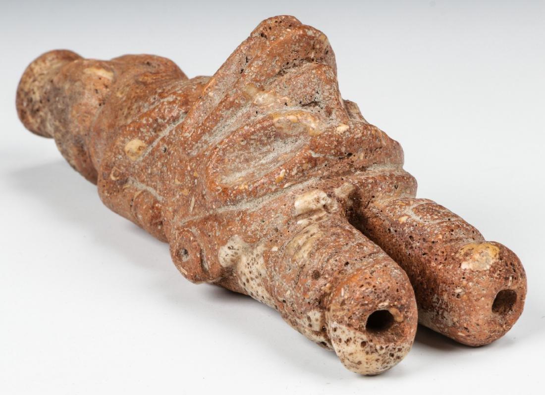 Taino Full Figure Frog-Man Cohoba Inhaler (1000-1500 - 6