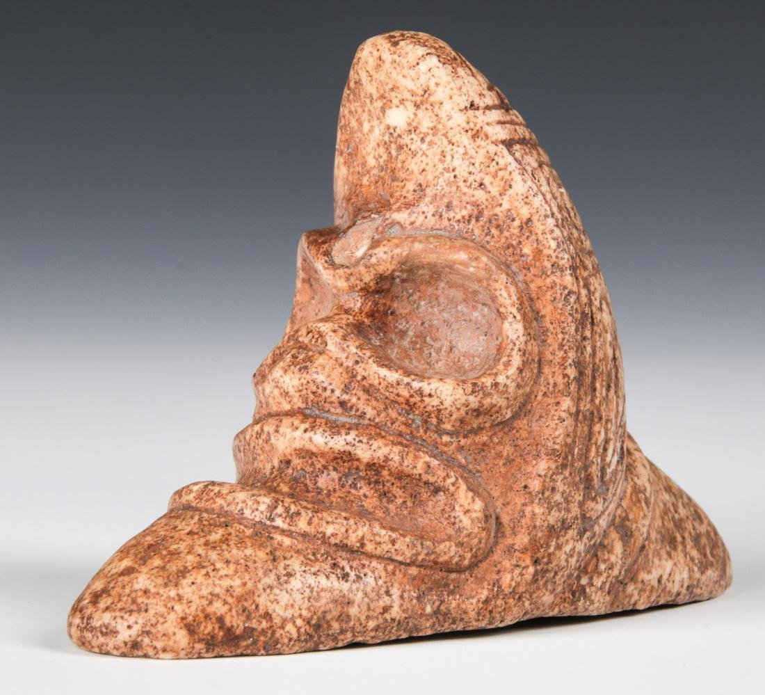 Taino Rare Zemi With 2 Heads (1000-1500 CE)