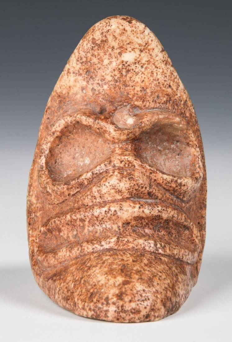 Taino Rare Zemi With 2 Heads (1000-1500 CE) - 2