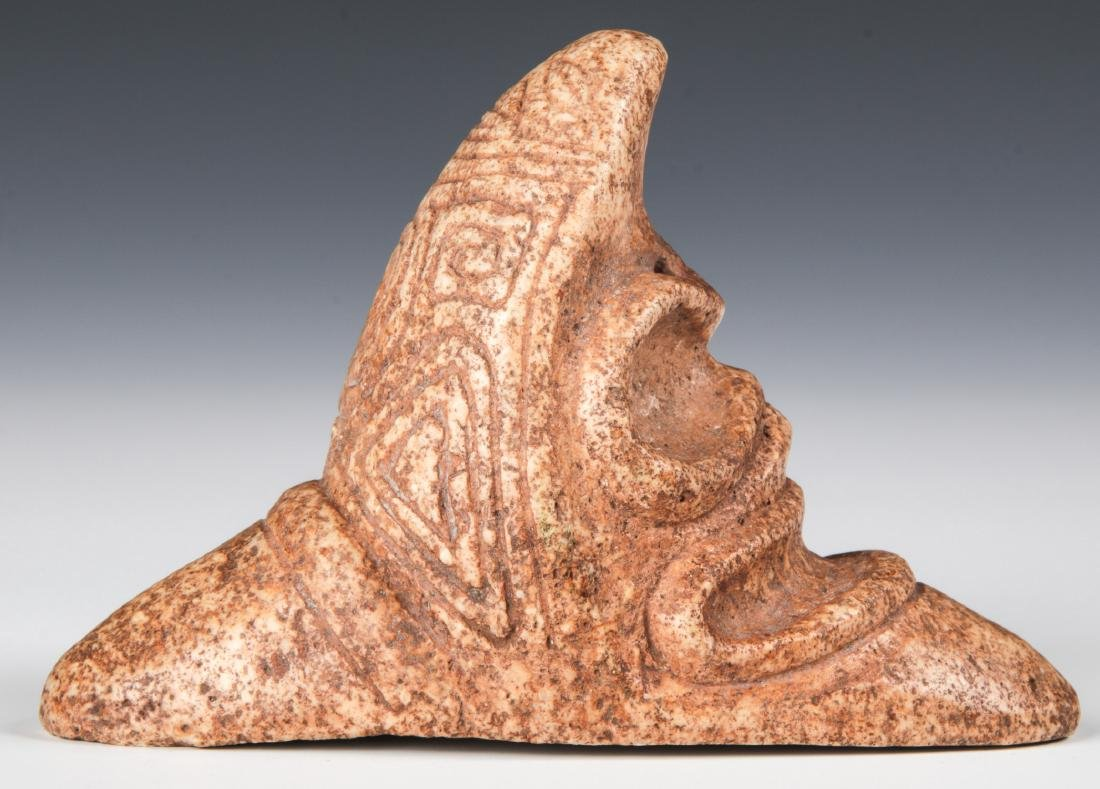 Taino Rare Zemi With 2 Heads (1000-1500 CE) - 3