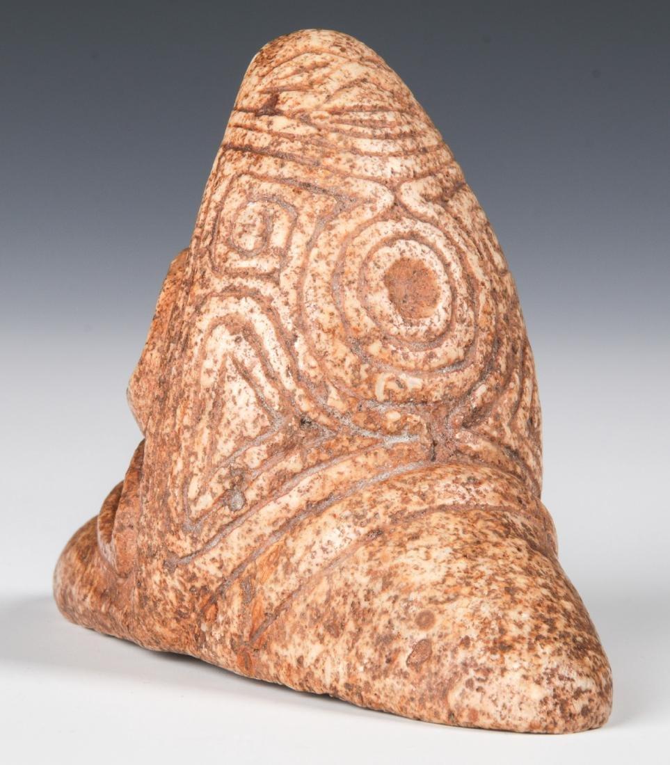 Taino Rare Zemi With 2 Heads (1000-1500 CE) - 4