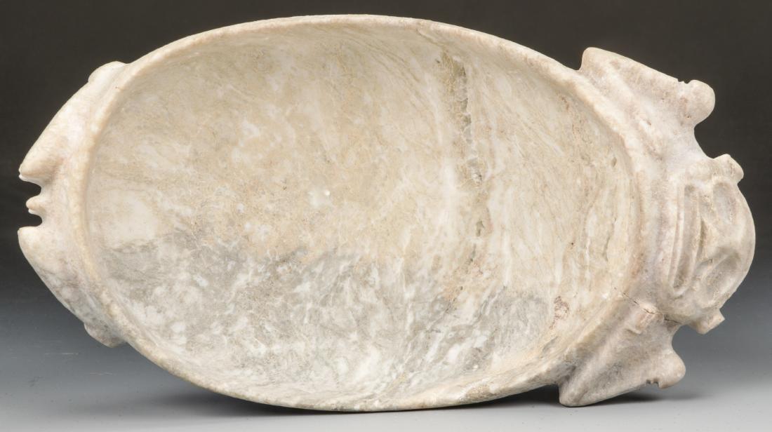 Taino Stone Figural Bowl (1000-1500 CE) - 5