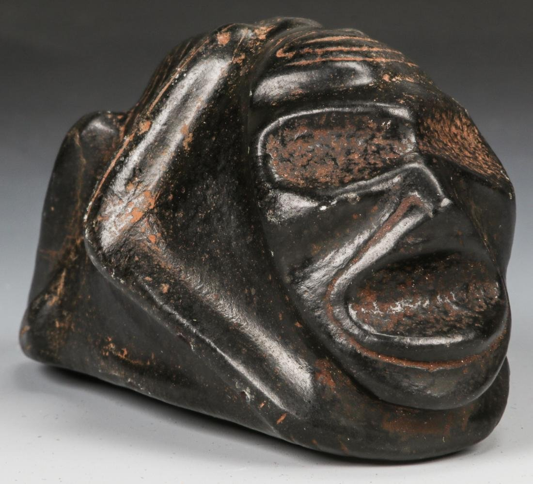 Taino Frog-Man Stone Figure (1000-1500 CE)