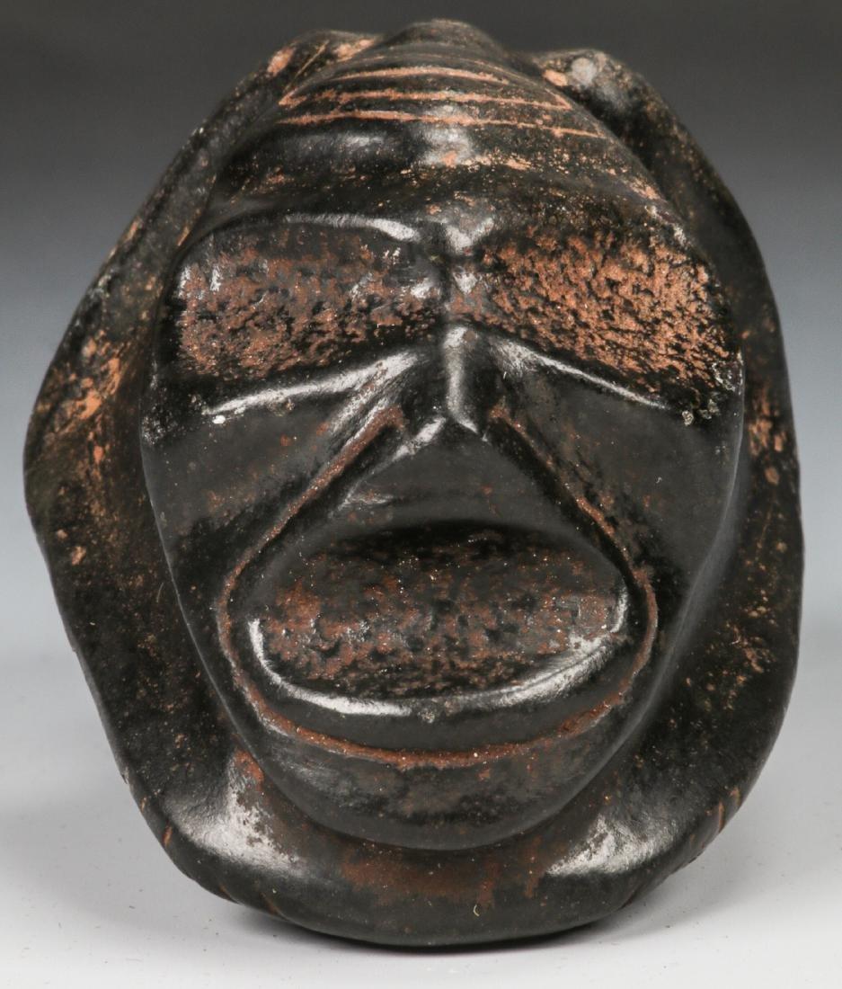 Taino Frog-Man Stone Figure (1000-1500 CE) - 2