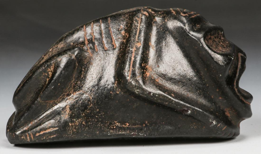 Taino Frog-Man Stone Figure (1000-1500 CE) - 3