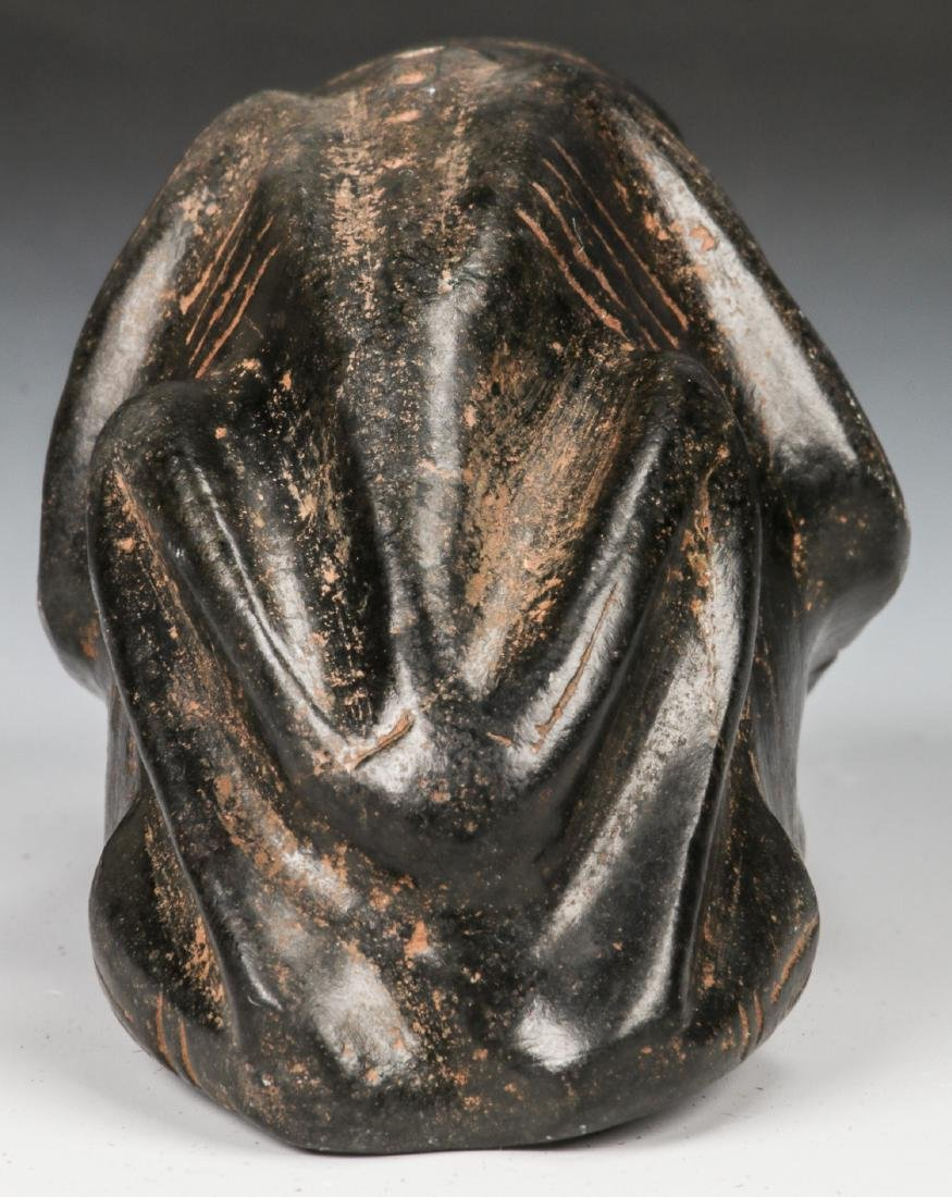 Taino Frog-Man Stone Figure (1000-1500 CE) - 4