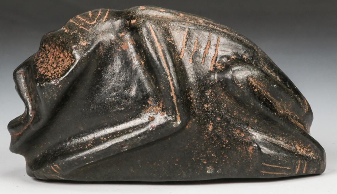 Taino Frog-Man Stone Figure (1000-1500 CE) - 5