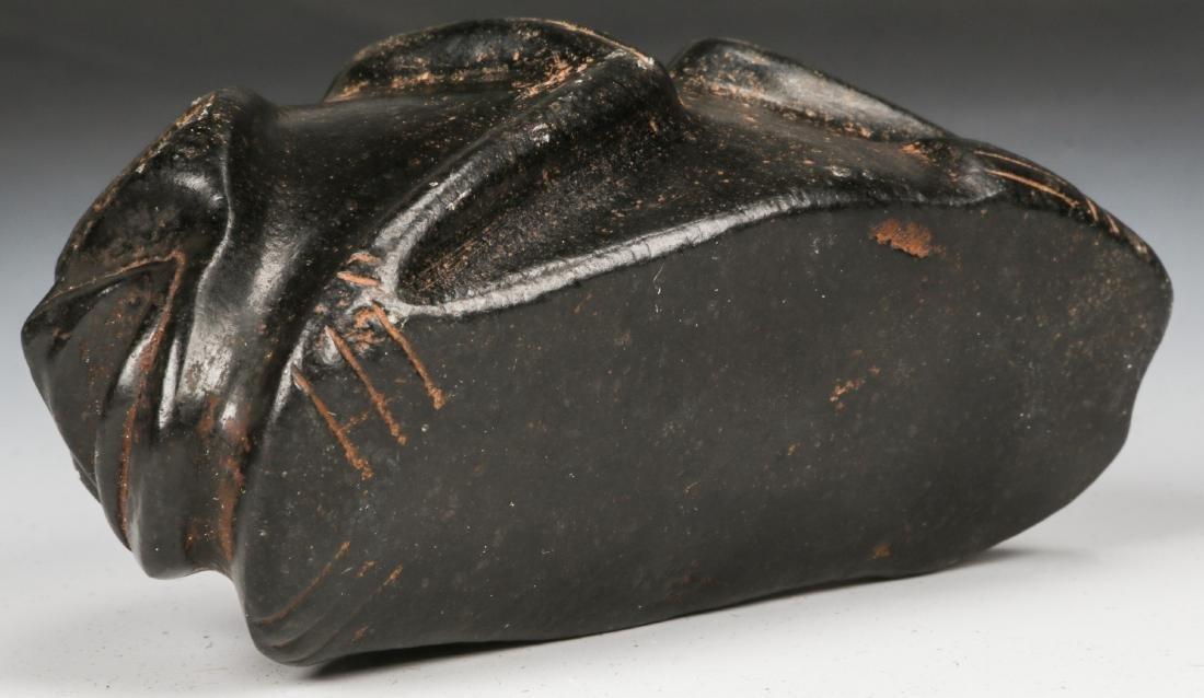 Taino Frog-Man Stone Figure (1000-1500 CE) - 6