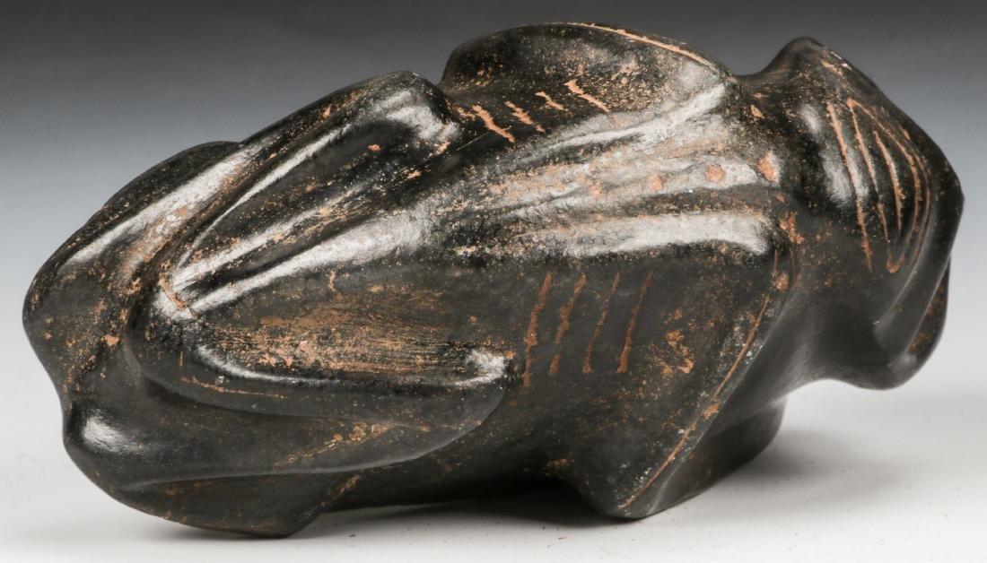Taino Frog-Man Stone Figure (1000-1500 CE) - 7