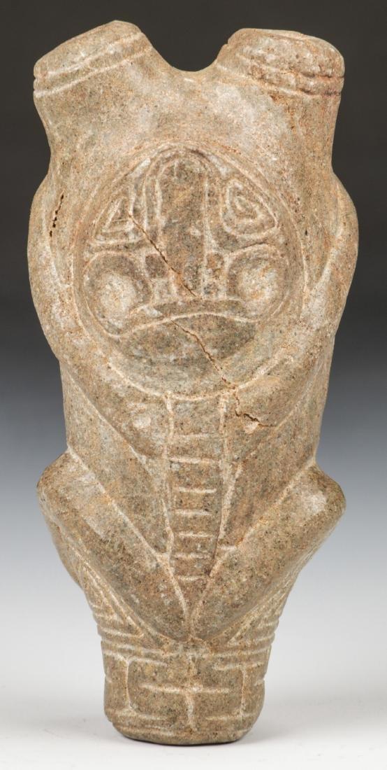 Taino Stone Cohoba Inhaler (1000-1500 CE)