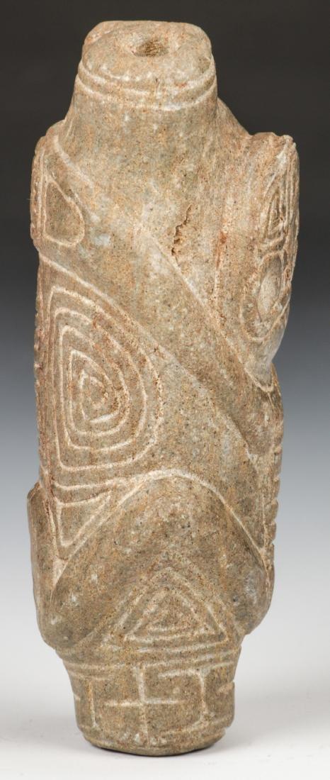 Taino Stone Cohoba Inhaler (1000-1500 CE) - 2