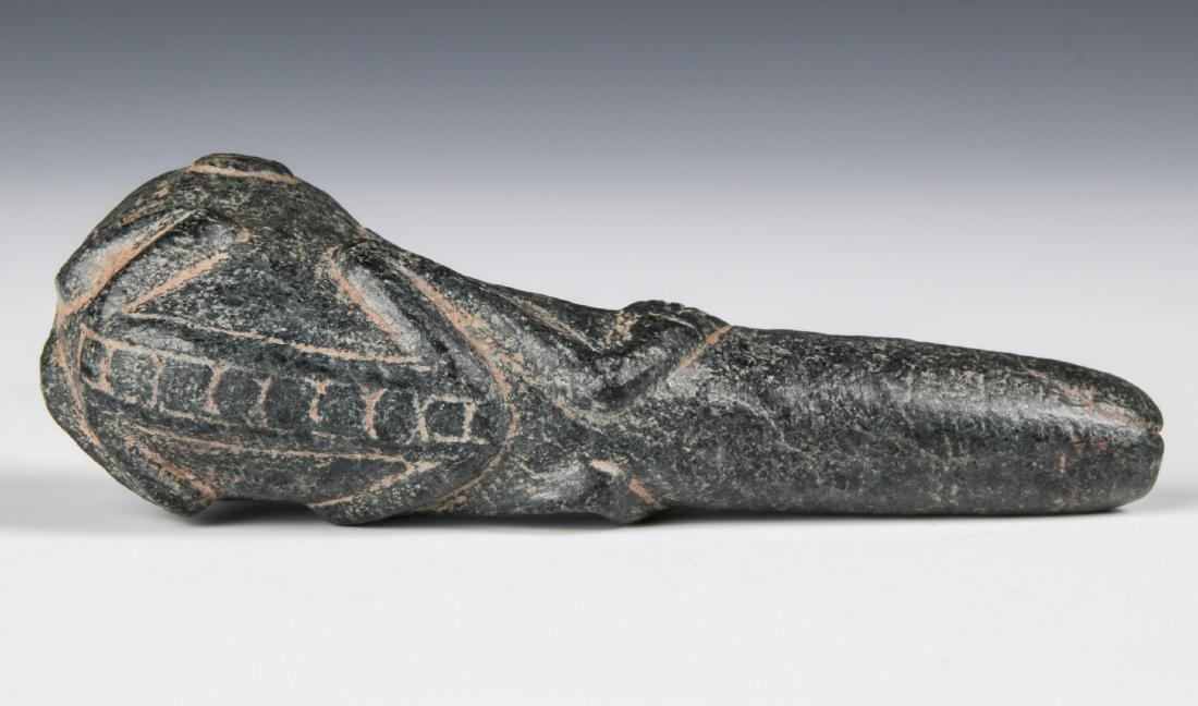 Taino Hallucinating Bird Man Pipe (1000-1500 CE) - 3