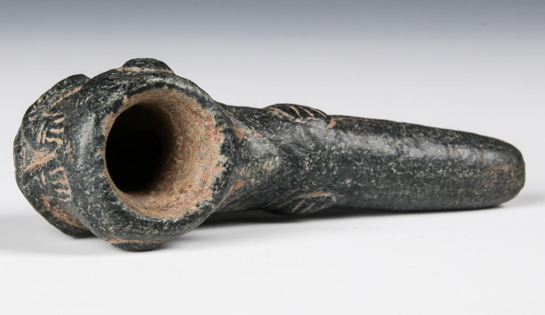 Taino Hallucinating Bird Man Pipe (1000-1500 CE) - 4