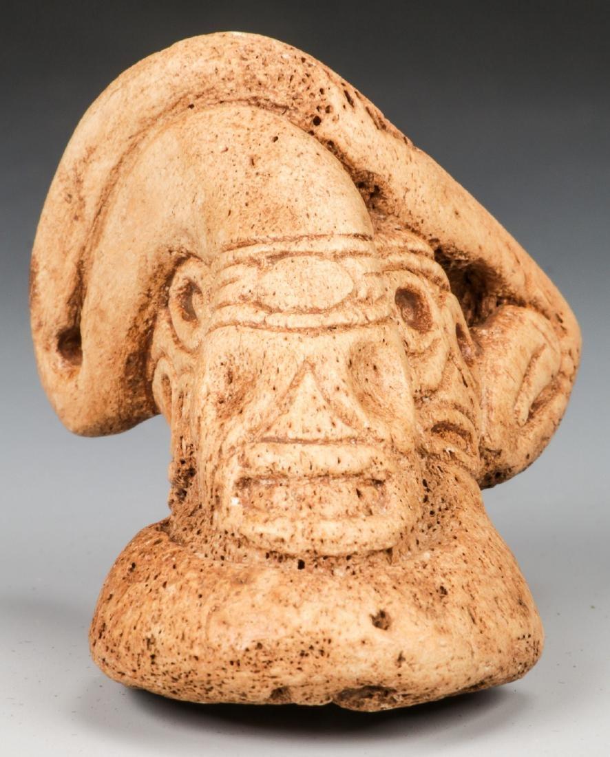 Taino Manatee Bone Snake (1000-1500 CE)