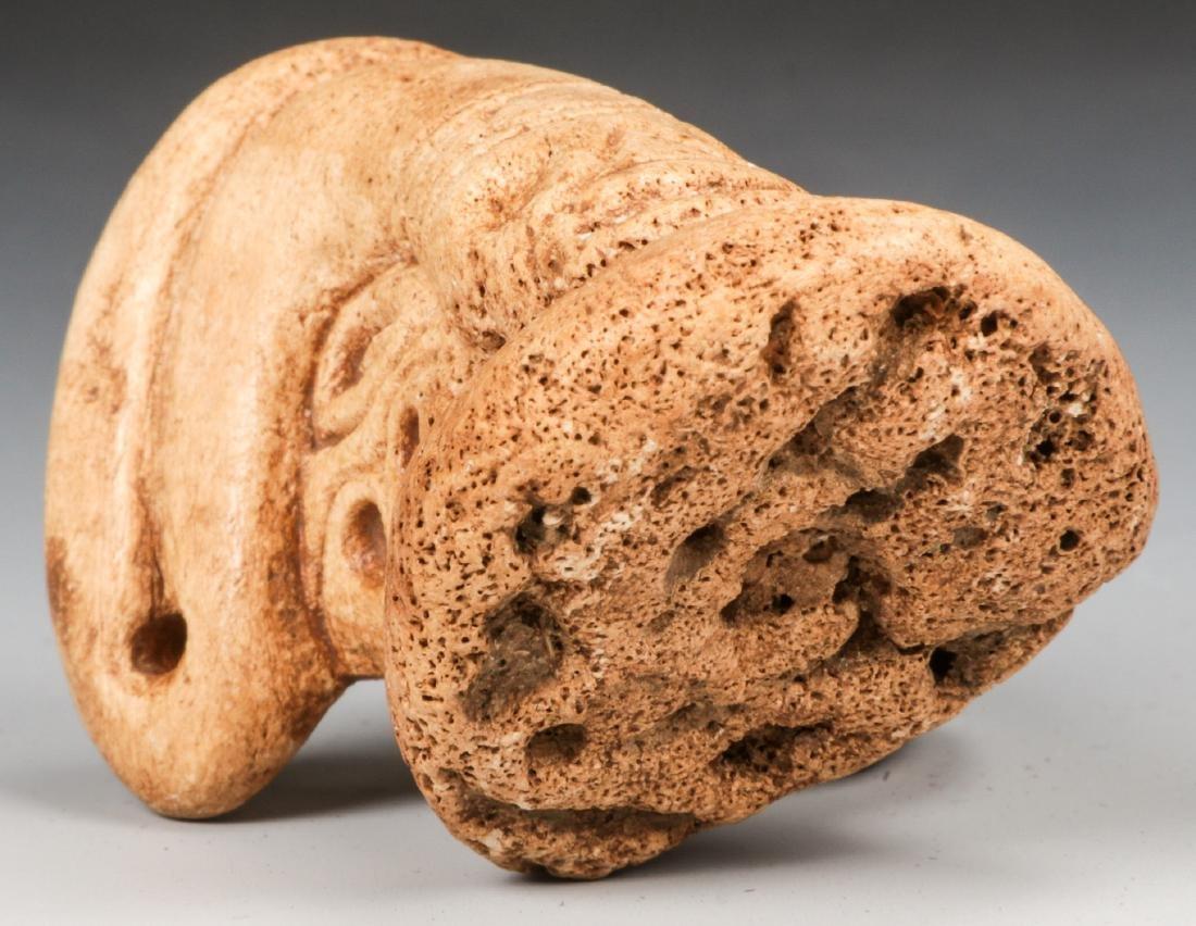 Taino Manatee Bone Snake (1000-1500 CE) - 5