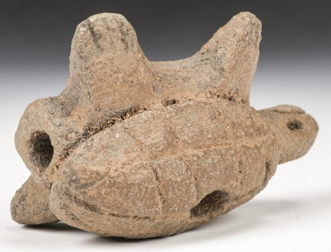 Turtle Effigy Pipe, Tennessee - 7