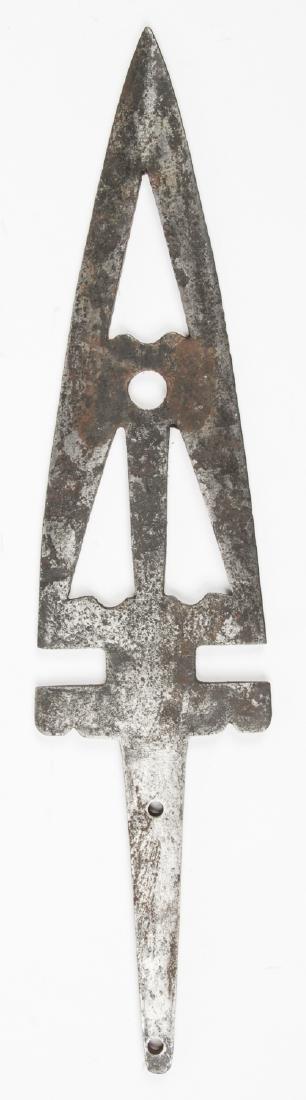 1800's Buffalo Lance (metal), Oklahoma