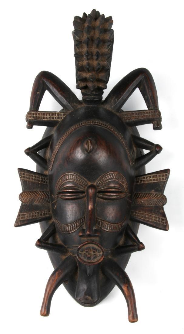 Fine Old Senufo Keplie Mask, Ivory Coast
