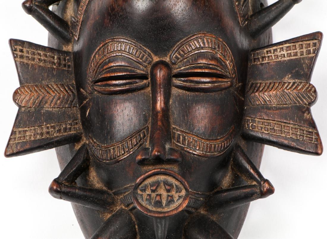 Fine Old Senufo Keplie Mask, Ivory Coast - 3