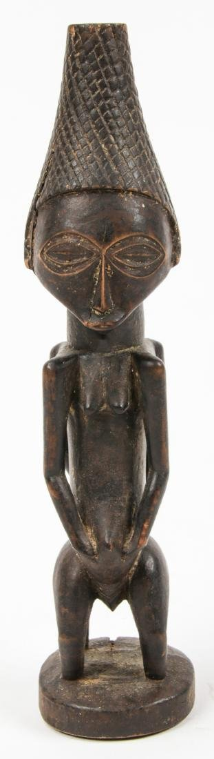 Fine Old Luba Janis Form Divination Idol, Congo - 3