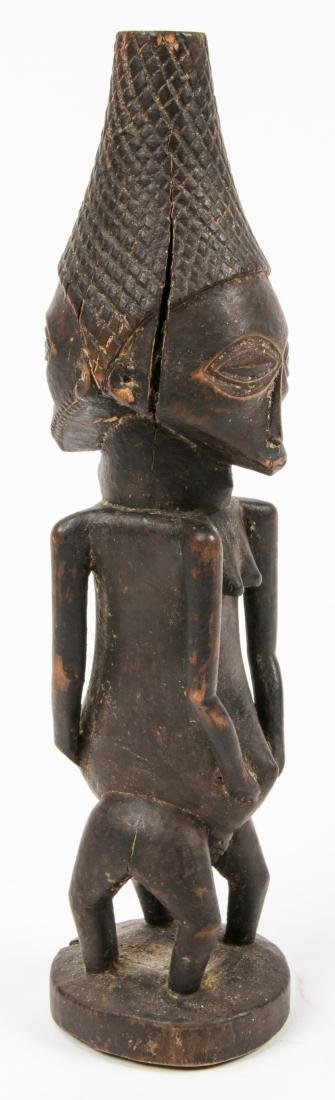 Fine Old Luba Janis Form Divination Idol, Congo - 4