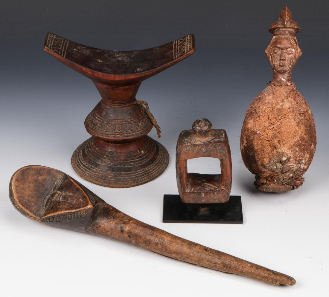 Collection of African Ethnographic Artifacts