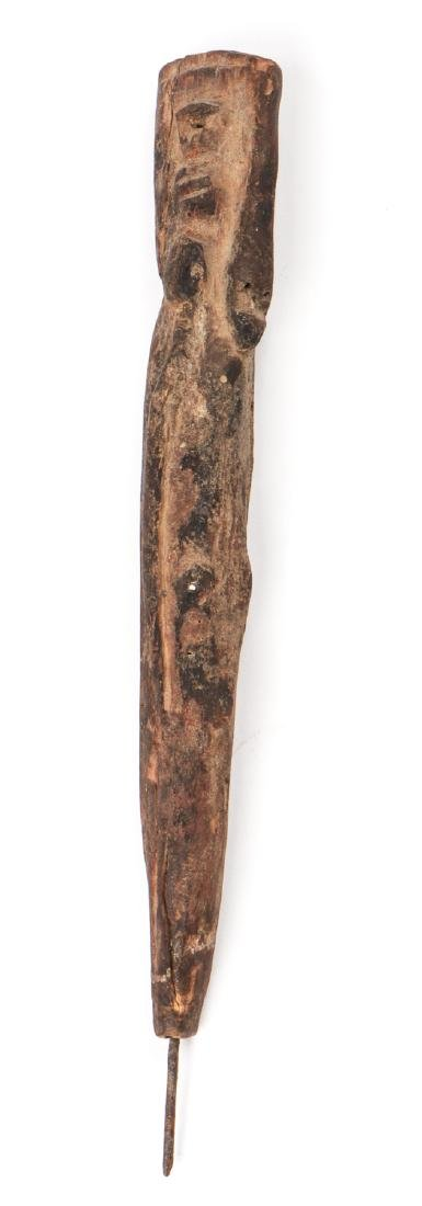 Waja Fetish Post Figure, Nigeria