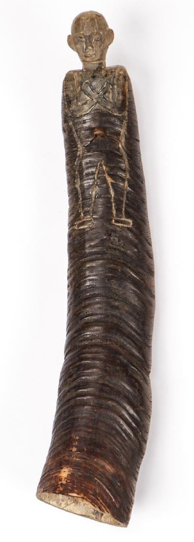 PNG Totemic Bone/Horn Carving