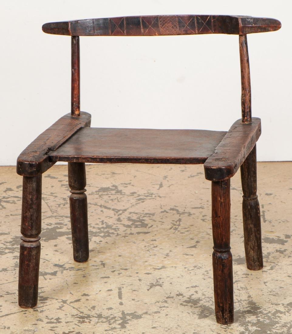 Baule Chair, West Africa