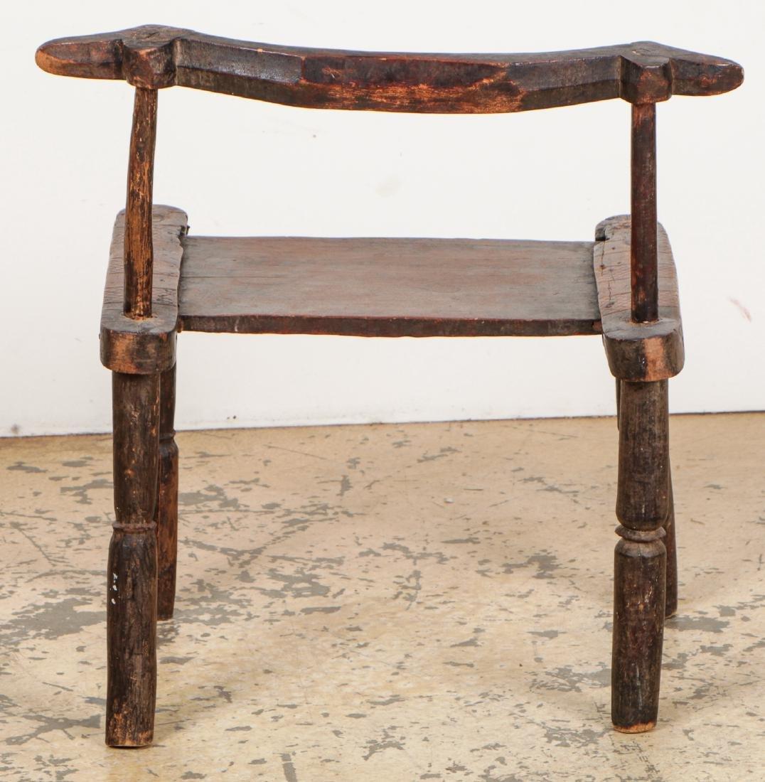 Baule Chair, West Africa - 4