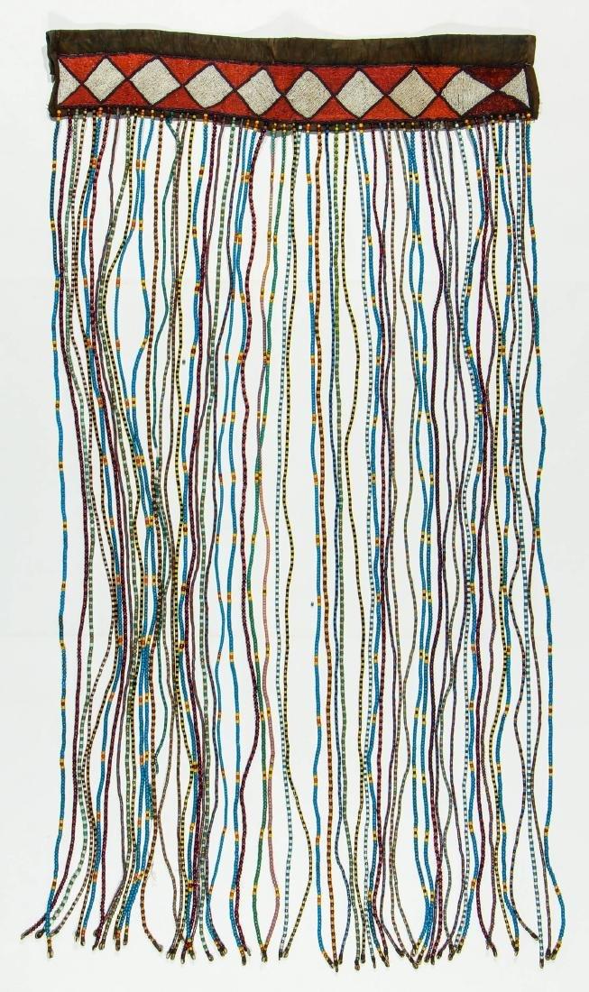 2 Vintage African Bead Hangings - 4