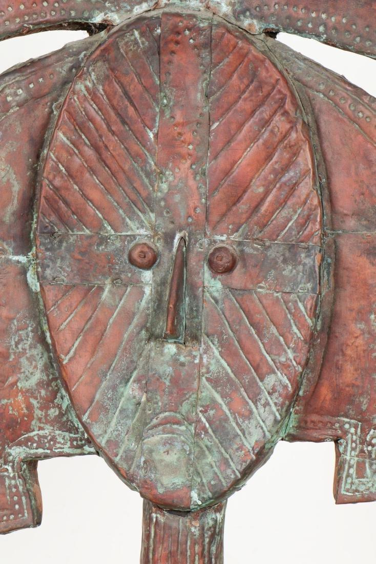 Massive Kota Copper Clad Reliquary - 2