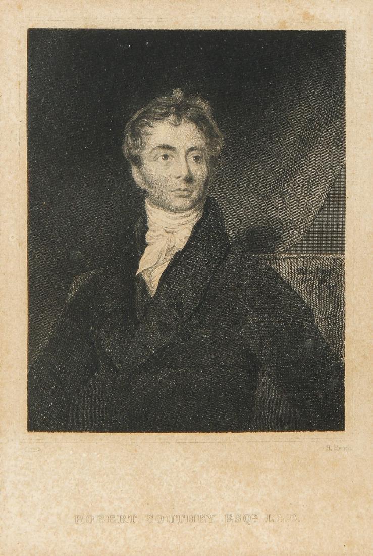 Romantic Poet Robert Southey (1774-1843) Letter - 2