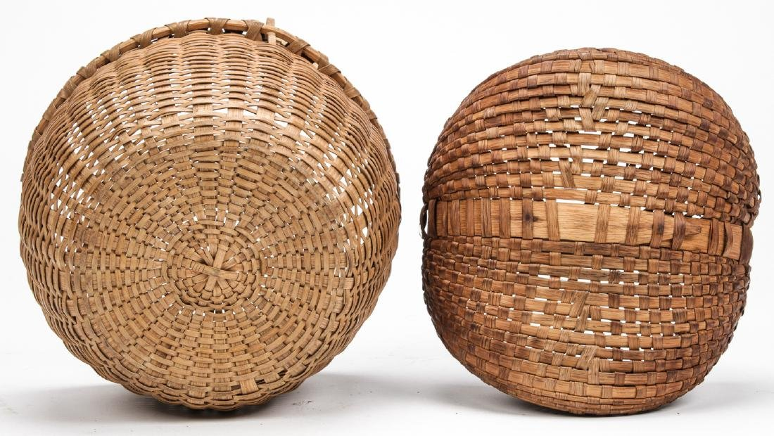 4 Antique American Baskets - 6