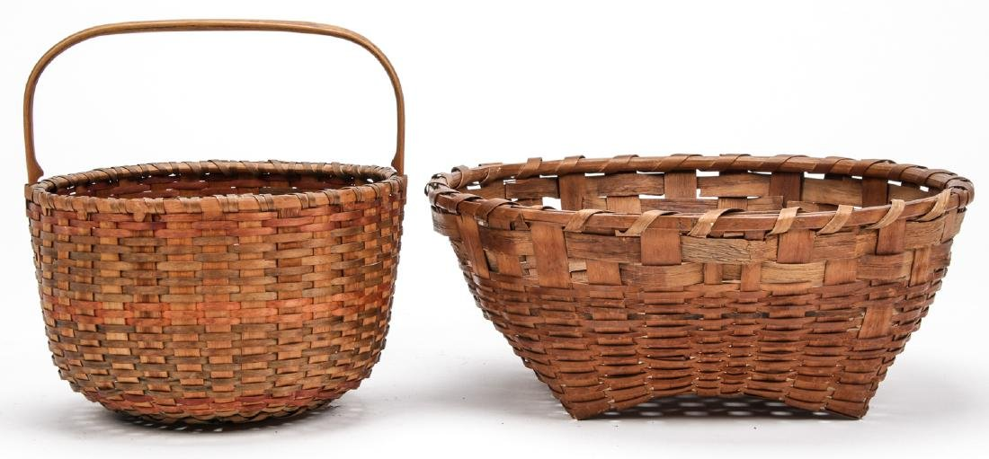 4 Antique American Baskets - 7