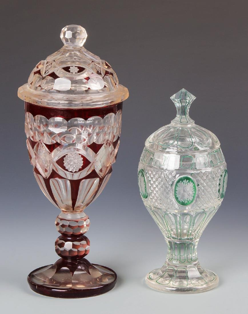 8 pc Estate Glass Collection - 4