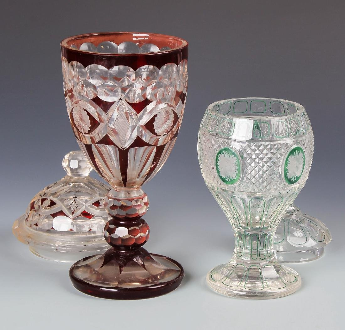 8 pc Estate Glass Collection - 5