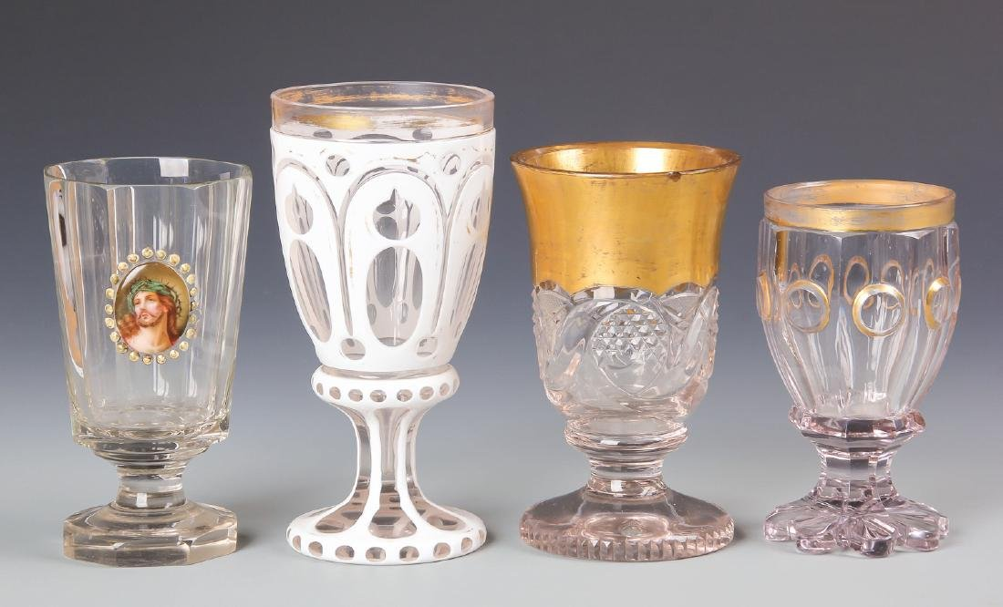 8 pc Estate Glass Collection - 7