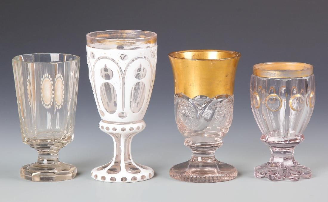 8 pc Estate Glass Collection - 8
