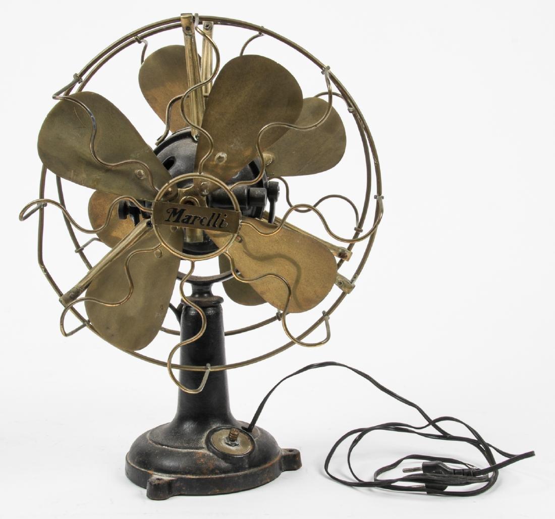 Old Marelli Double Sided Fan