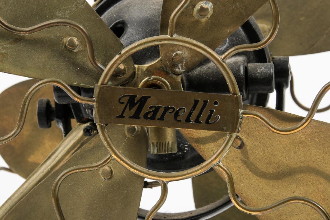 Old Marelli Double Sided Fan - 2