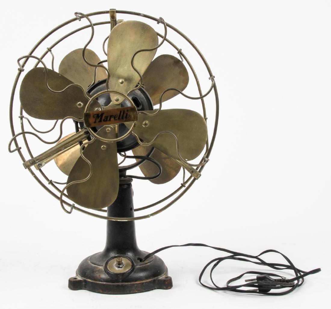 Old Marelli Double Sided Fan - 4