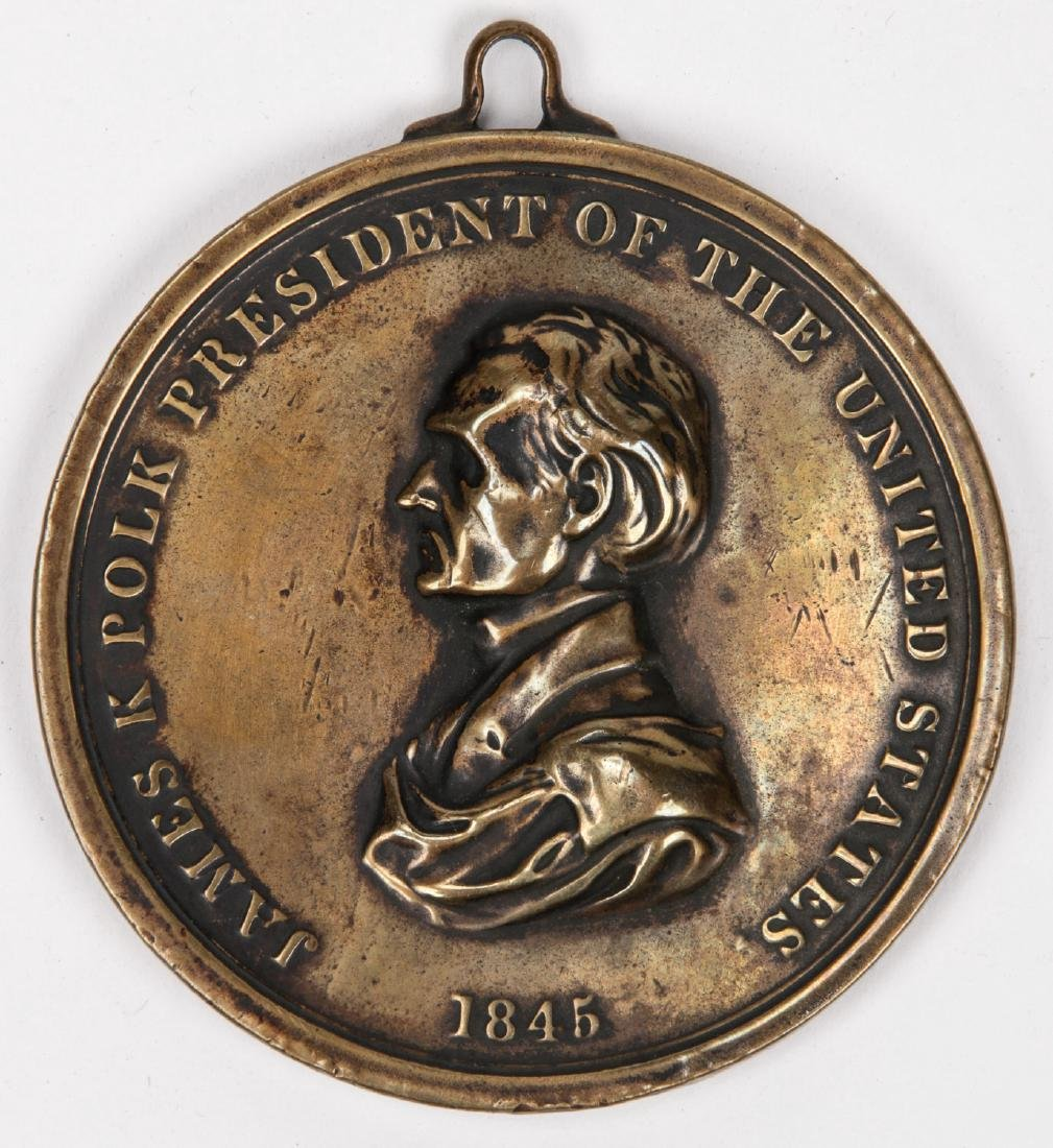 1845 Peace Medal, Virginia