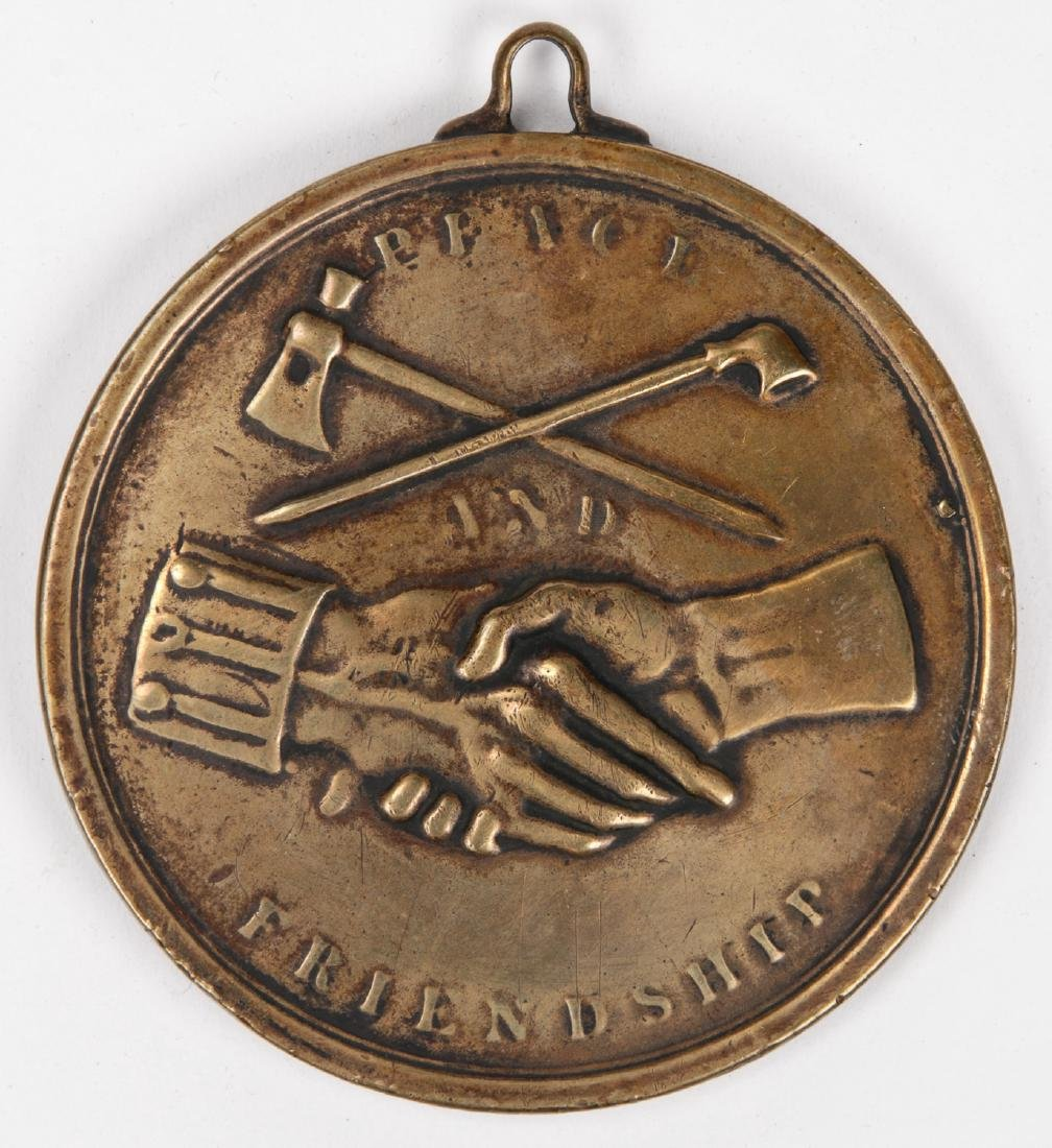 1845 Peace Medal, Virginia - 2