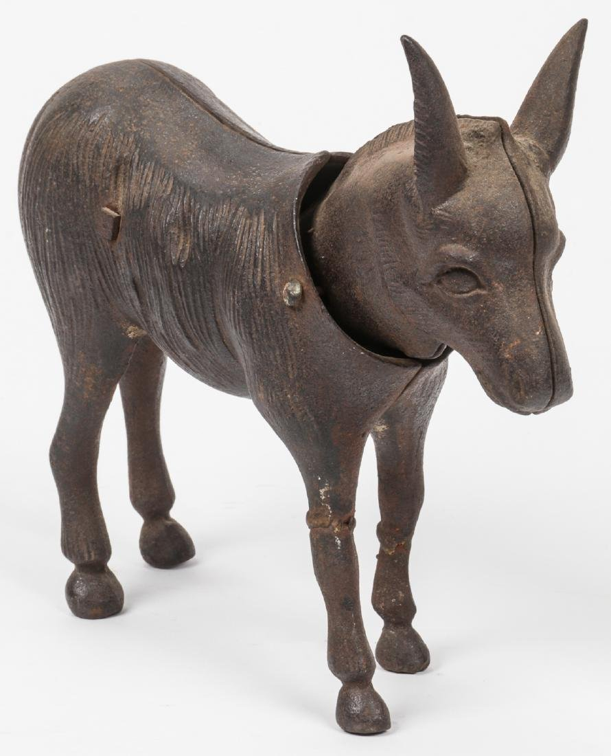 Old Cast Iron Nodding Head Mule