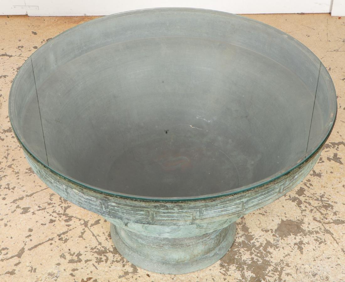 Chinese Bronze Archaic Urn - 3