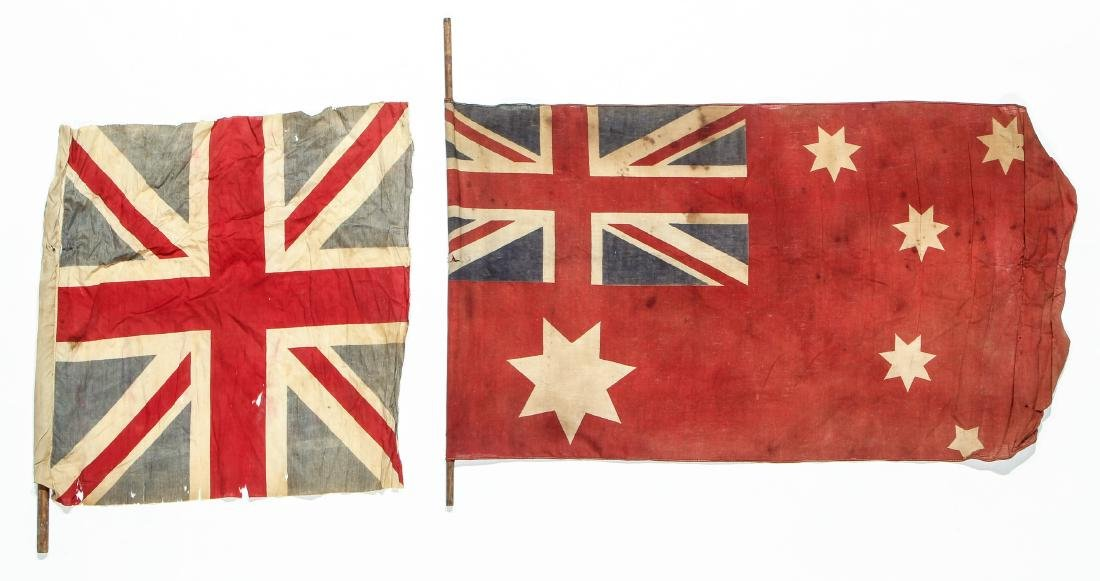 Collection of Vintage Flags (8) - 2