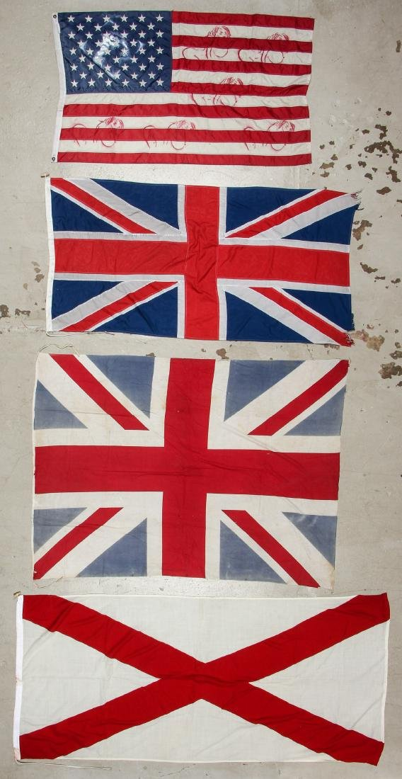 Collection of Vintage Flags (8) - 4