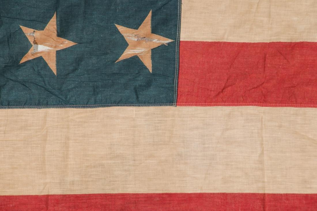 3 Large Vintage American Flags - 10