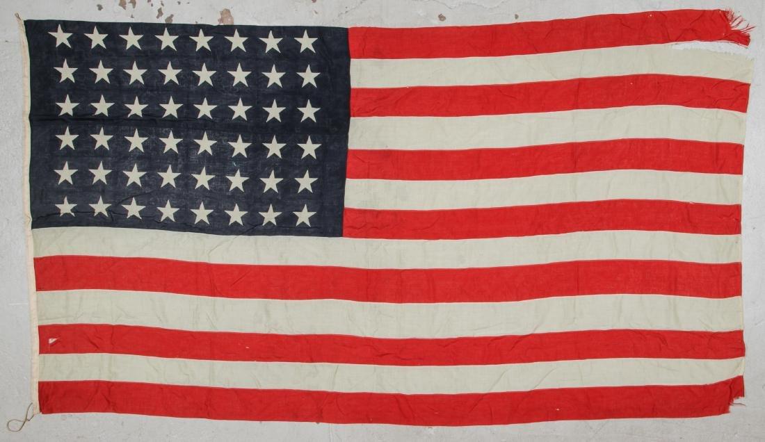 3 Large Vintage American Flags - 5